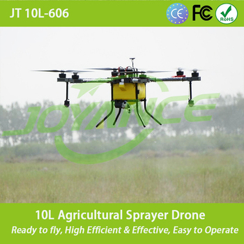 Battery power sprayer drone agricultural spray UAV fumigation drone with GPS