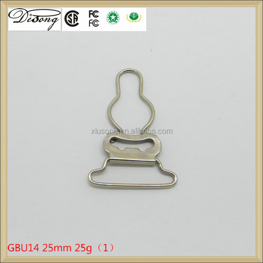GBU14 Lead-free and nickel-free custom belt gourd metal suspender buckles