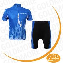 Top quality control compression tight coolmax cycling clothing 3D pads