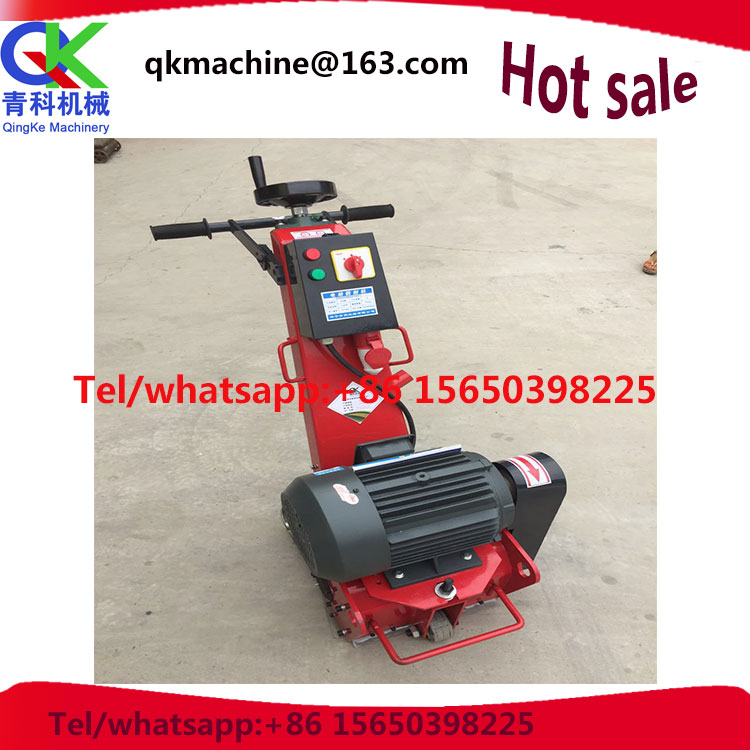 low price Hand push road concrete milling machine for sale