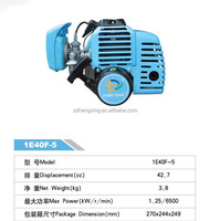 40cc 2-Stroke Small Gasoline Engine 1E40F-5 for Agriculture and Garden Tools