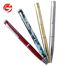 Good quality steel head tactical tool pen glass breaking self defense ball pen with knife