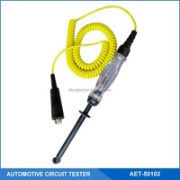 Auto/Car Circuit Tester/Detector With Hook Heavy Duty Probe and Coil Cord