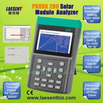 PROVA-200A Solar Module Analyzer/Solar Power Meter