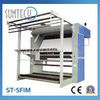 SUNTECH Fabric Texting and Rolling Machine,High Quality Inspection Machine