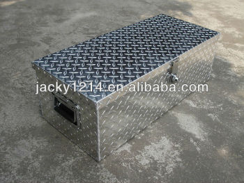 Aluminium Storage Box with pattern