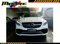 Body kit lip Spoiler For Mercedes BenzGLE350 400H Tuning GLE63 AMG style body kits
