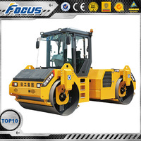 xcmg walk behind rubber tire road roller for sale