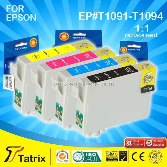 For Epson Ink Cartridge T1091 T1092 T1093 T1094 With Top 3 Manufacture in China