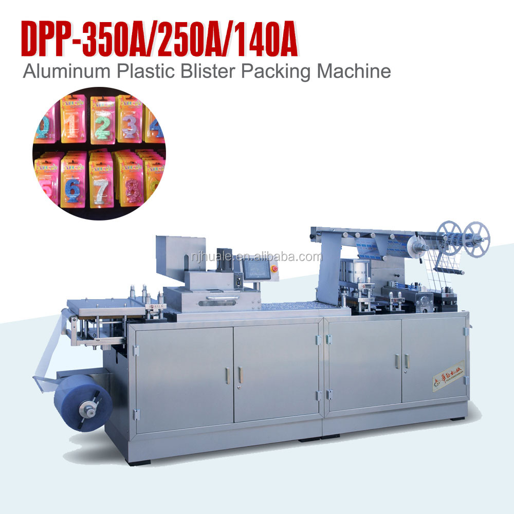 Large Automatic Plastic Blister Packaging Machine DPP-350A