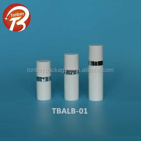Hot sale 5ml 10ml 15ml PP plastic airless lotion bottles airless pump bottles