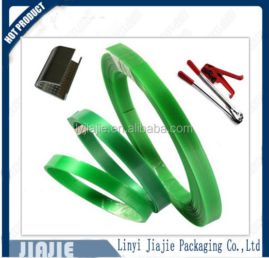 Alibaba hot sale high quality green safe and economical polyester packing strapping