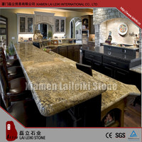 Hot sale Chinese kitchens granite countertop coffee brown