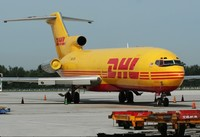 DHL express service from China to Germany