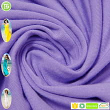 bamboo viscose spandex knitting fabric