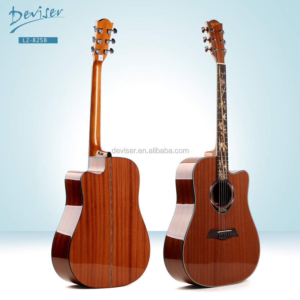 China made Sapele excel guitar acoustic