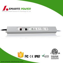 2 years warranty 24v 60w slim driver led power supply ip 68