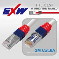 High Speed 2M Connector Cat.6A STP Network Cable