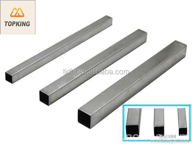 TOP KING welded erw square and Rectagular steel tube china manufacturer