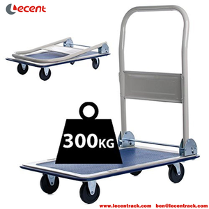 High Quality 150 Kg Capacity Foldable Platform Hand Trolley