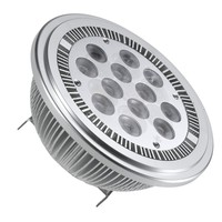 smd 5x1W 5w high power 240v ce rohs ar111 g53 led gu10 dimmable