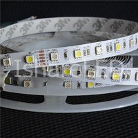 1/5m DC24V 5050 RGBW pixel strip IP20 IP65 IP67 IP68, waterproof in silicon coating, 60pcs LEDs/m with 60 pixels;
