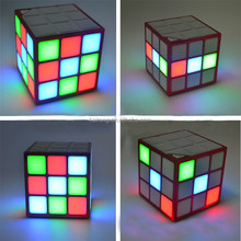 2016 New Design Magic Cube Shape portable mobile mini bluetooth speaker