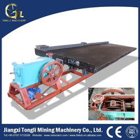 Jiangxi Tongli Mineral Processing Equipment 6-S Shaking Table for Copper Tailings Recovery
