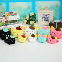 factory custom soft birthday gift animal toys plush cat toys