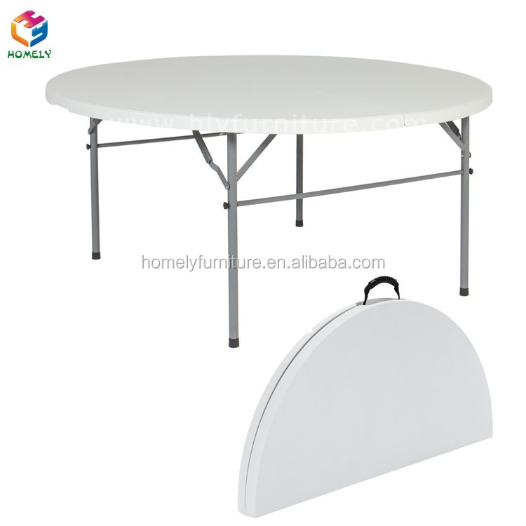 High Quality Wedding Folding Plastic Round Table
