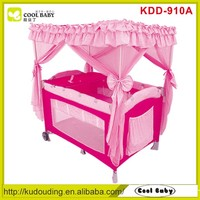 China new design popular baby playpen travel cot , square baby playpen , american style baby playpen