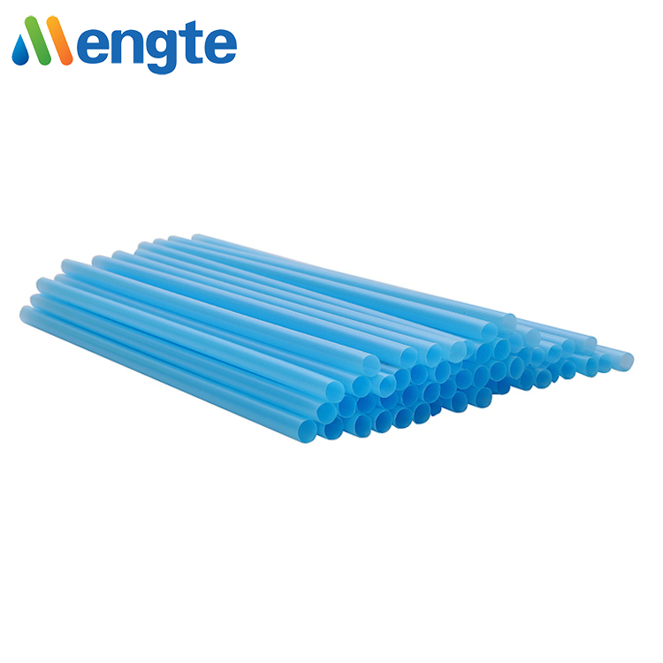 Mengte compostable corn starch 100% biodegradable non plastic drinking straw PLA straws