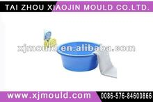 injection moulded basin,plastic injection mold for washtub