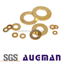 Factory customized brass shim fender tap washers,lock flat copper washer
