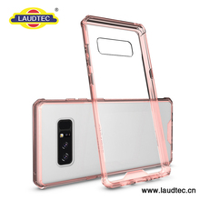 Clear Plastic Back Soft TPU Bumper Case Cover For Samsung Galaxy Note 8