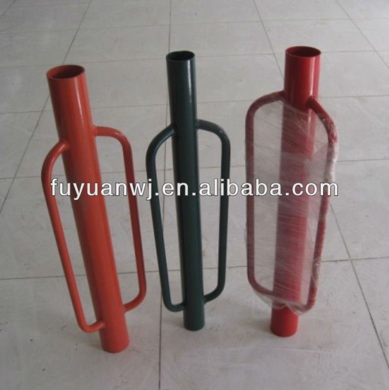 2017 Hot sale manual guardrail metal red post driver (factory)