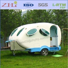 Small Fiberglass Decorating Teardrop Travel Trailer