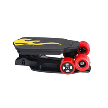 New products china most popular zinc alloy 2017 kids electric skateboard