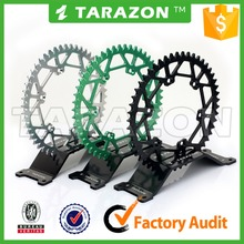 Custom aluminum alloy motorcycle rear sprocket for Suzuki RMZ 250 kawasaki KX 250F