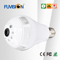 High Quality HD Smartphone App Wifi Remote Control Hidden Indoor Wireless Light Bulb Camera