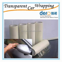 Outdoor Printing Transparent Self Adhesive Vinyl Plastic Film for Car Decorations