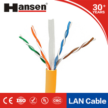high speed communication network 1000m u/utp cat6 lan cable