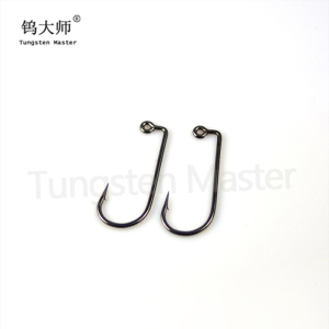 Cheap fishing tackle supplier carbon steel fishing hooks fishing jig hooks