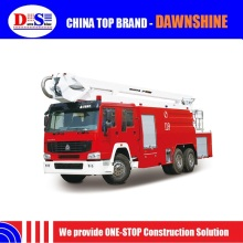 Howo Chassis Shantui Mini Fire Truck With Lights JP26A Standard Fire Truck Dimensions