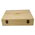 Popular Pine Wooden Essential Oil Box with custom logo