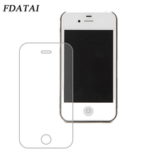 9H 0.3mm 2.5D Ultra Thin Tempered Glass Screen Protector For iPhone4 4S Explosion Proof Mobile Phone Fiml For Apple iPhone 4