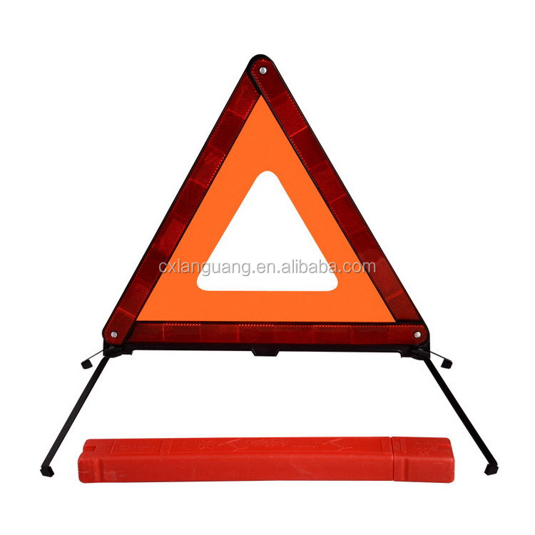 Top level new products car trunk organizer with car triangle warning for roadway