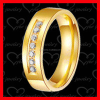 Alibaba china smart ring 18k gold plated jewelry for engagement ring