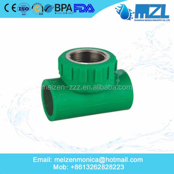 Plastic PPR Pipe Fittings Stop Valve for Connecting Water Pipe