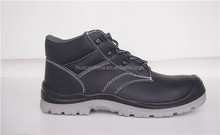 Mens Leather Safety Steel Toe Cap Boots Work Industry Shoes